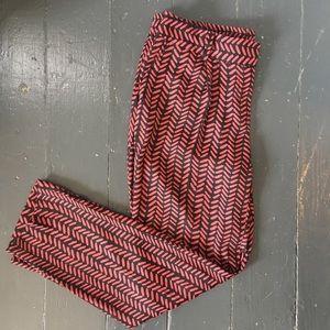 Loft Tapered Printed Pants